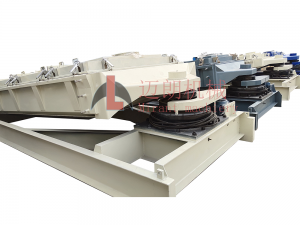 Gyrotary Vibrating Screen in Rubber Powder